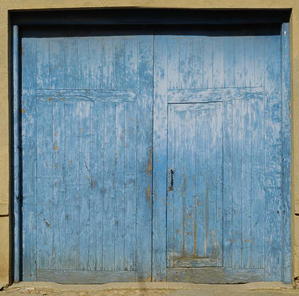door wood barn old planks garage painted double