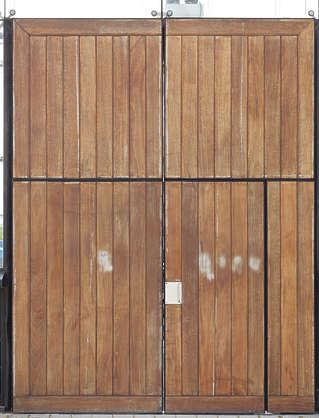 door double wooden modern