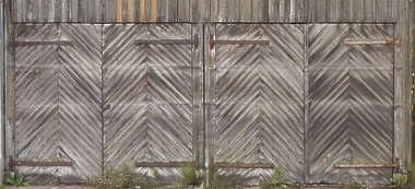 door wood wooden old double gate