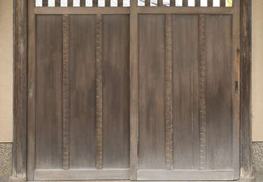 japan wood bare door