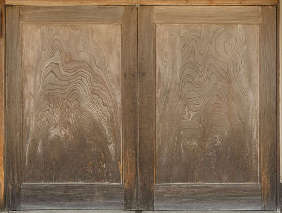 japan wood bare old