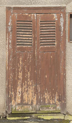 window shutter shutters door wood old house