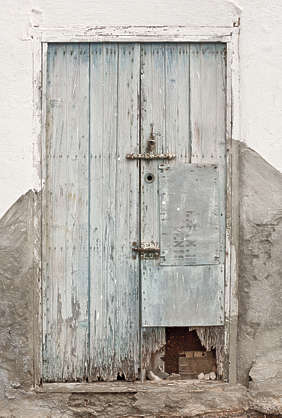 morocco door wood double old damaged