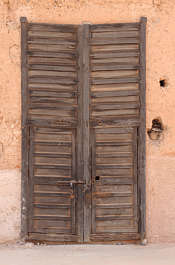 door old wooden double morocco
