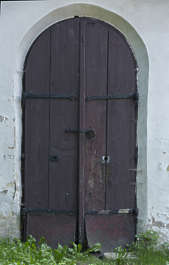 door double wooden old