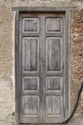 door wooden double spain