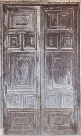 door double wooden spain