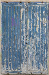 morocco door wood planks painted