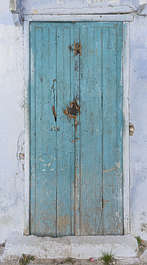 morocco door wood painted