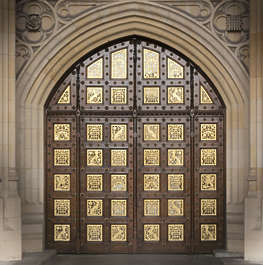 ornate westminister UK london westminster door ornate medieval arch