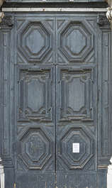 venice italy door wooden double ornate big