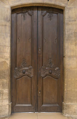door wood old ornate church panels