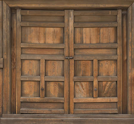 DoorsOrnate0428 - Free Background Texture - japan wood door double ...