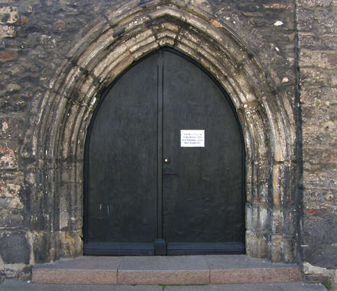 door church arch