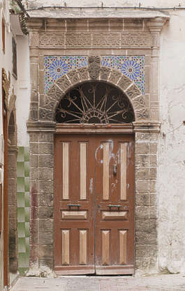 north africa arabia arabian morocco door wooden archway ornate