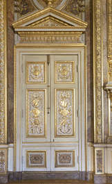 ornament ornate doors double france
