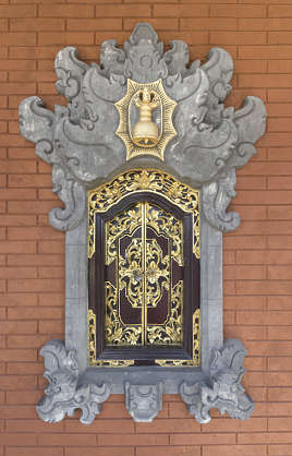 asia china oriental ornament door double glided
