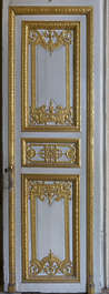 ornate ornament door gold gilded