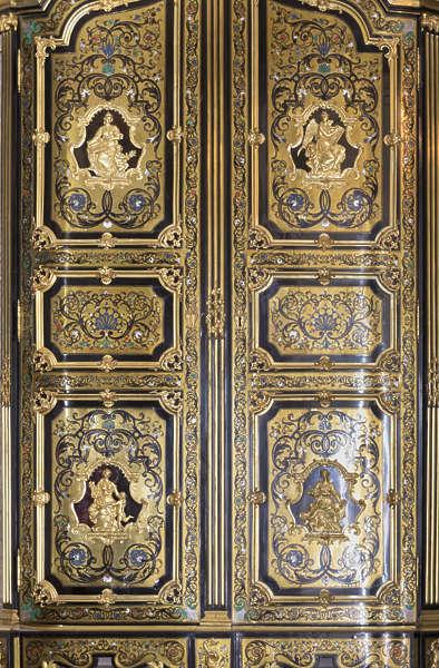 Doorsornate0393 Free Background Texture Gold Gilded