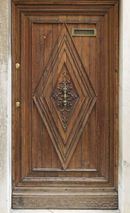 venice italy door ornate wooden