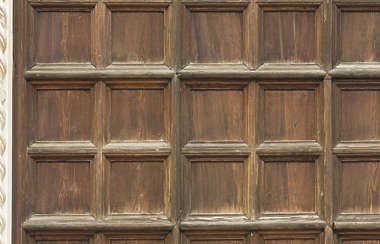 venice italy door wooden ornate panels panelled