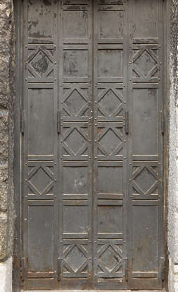 venice italy door double metal panelled panels