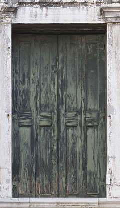 venice italy door double old paint worn