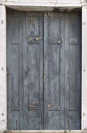 venice italy door wooden double