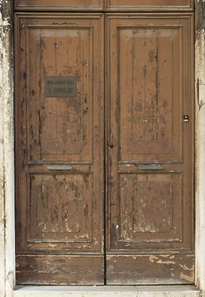 venice italy door wooden double old