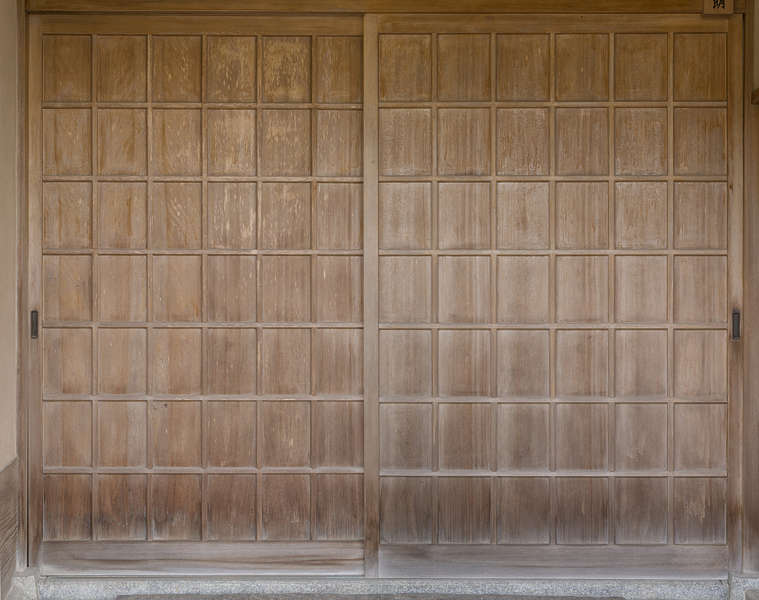 Doorswoodpanelled0262 Free Background Texture Japan