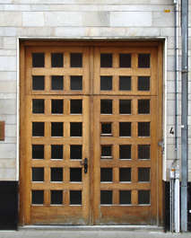 door wood house panel panelled