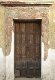 door wood medieval house old wooden panel panelled