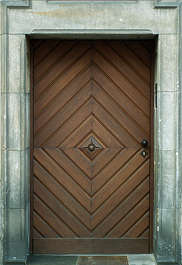 door old planks wood house panel panelled