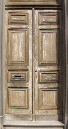 door wood old paint weathered panel panelled