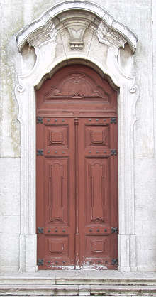 door wood ornament panel panelled