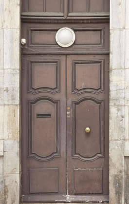 door wood wooden ornate double