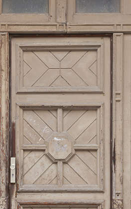 door panelled wooden wood