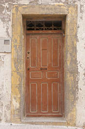 north africa arabia arabian morocco door old painted wooden weathered
