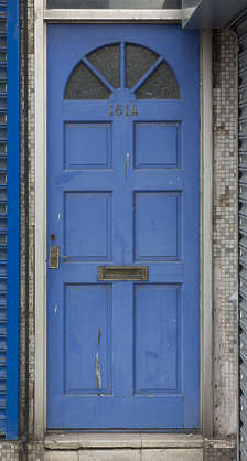door single wooden panelled UK