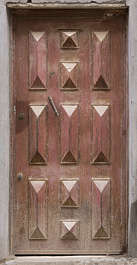 morocco door wood single