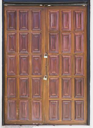 morocco door wood panel panels