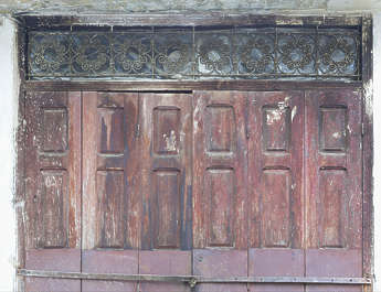 morocco door wood panel panels panelled