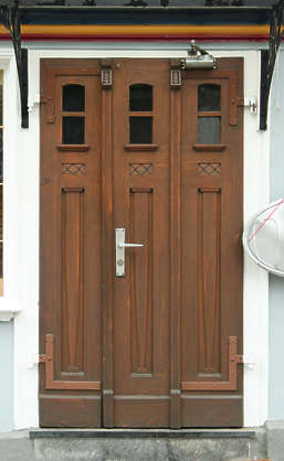 door wood house single new