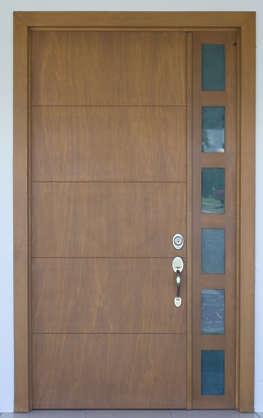DoorsWood0122 - Free Background Texture - door house wood new clean brown beige