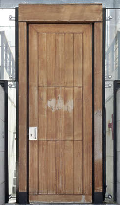 door single wooden modern