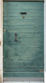 venice italy door wooden single