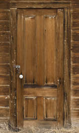 USA Bodie ghosttown ghost town old western goldrush desert arid door wooden single bodie_008