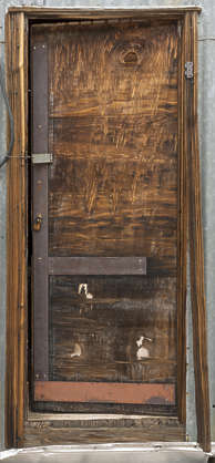 USA nelson ghost town ghosttown door wooden single