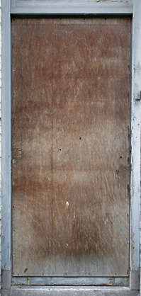 door wood old single