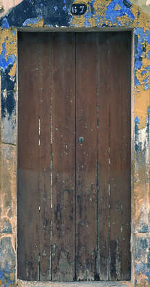 door wood house old planks single
